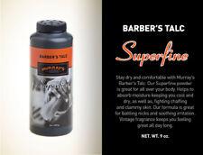 Murray's  SUPERFINE Barber's TALCUM POWDER - Superior Product