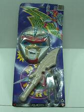 Vintage 1994 Mega Force Mask Set & Action Figure Moc