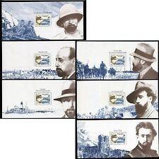 FRANCE SERIE BLOC SOUVENIR N° 17 A 22 SHANGHAI 1932  NEUF SOUS  BLISTER