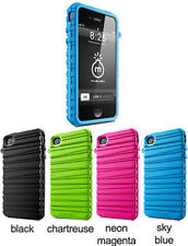 Musubo MU11002 Rubber Band Cases for Apple iPhone 4/4S , Different Colors, NEW