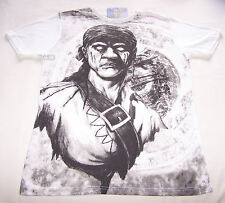 Disney Pirates Of The Caribbean Mens White Pirate T Shirt Size Xs New