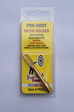 Pro Shot Extended Brass Patch Holder For Shotgun / Slug Gun of All Gauges
