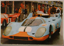 AUTO DA CORSA/RACING CAR PORSCHE 917K VIAGGIATA FG 1973 ANIMATA #16843
