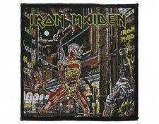 IRON MAIDEN somewhere in time 2011 - WOVEN SEW ON PATCH (2011 edition sealed)