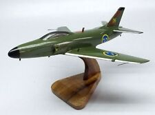 J-32 Lansen Saab Airplane Sweden Desktop Wood Model Big