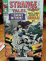 STRANGE TALES Nick Fury ENEMY WITHIN Marvel 147 August 1966 JACK KIRBY Don Heck
