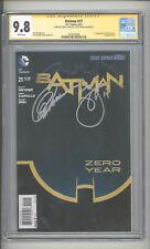 "BATMAN  #21   CGC 9.8  SS ""SIGNED BY GREG CAPULLO & SCOTT SNYDER"""