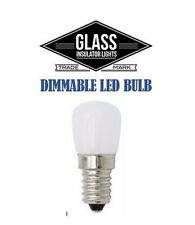 Glass Insulator Light LED Bulb - Insulator Light Bulb - e12 Candelabra Dimmable