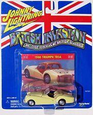 JOHNNY LIGHTNING BRITISH INVASION 1960 TRIUMPH TR3A Rubber Tires