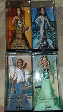 Eiffel Tower, Big Ben, Liberty, Sidney Opera: Landmark Collection Barbie Dolls