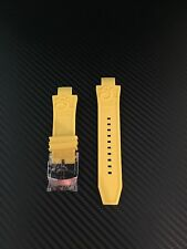 Invicta Subaqua Noma III Yellow Rubber Watch Replacement Band Strap