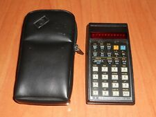 HP-33E Hewlett Packard Scientific Calculator Tipo LED Rojo Vintage PARA PIEZAS