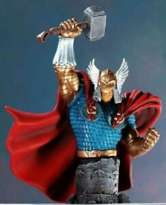 Battle Armor Thor Mini-Bust  --  [Sculpted by: The Kucharek Brothers]