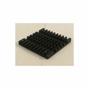Heasink HS40-4 40mmx40mmx4mm Aluminum Black Heatsink