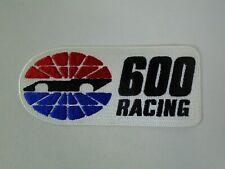 Charlotte Motor Speedway Logo 600 Racing Emblem Patch Nascar USAC