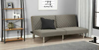 Tufted Futon Memory Foam Sofa Bed Full Size Sleeper Convertible Couch Loveseat