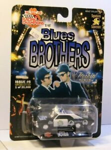 Racing Champions Blues Brothers Bluesmobile 67 GTO Tribute Police Car 1999 RARE