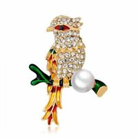 Bird Animal Gift Fashion Jewelry Lapel Pin Metal Brooch Garment Accessories