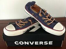 Converse Size 5 M Womens Chuck Taylor All Star Shoreline Navy/Biscuit/Egret