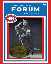 Montreal Canadiens 1965 Cup Finals Game Program Cover - 8x10 Photo