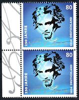 3513 postfrisch Paar senkrecht Rand links BRD Bund Deutschland Briefmarke 2020