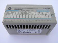 ALLEN BRADLEY 1794-IV16 FLEX IO I/O 24VDC SOURCE INPUT MODULE SER. A
