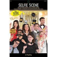 Happy New Year's Photo Prop Kit 13 Pièces Fête Accessoire's