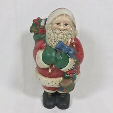 Vintage Midwest Importers Of Cannon Falls Cast Iron Christmas Santa Door Stop