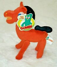 Gumby Pokey Plush Horse 10'' Inches New with Tags Tm Prema Toy Co