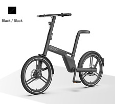 """20"""" 36V  Black Two wheel electric bicycle portable foldable without chain igogo"""