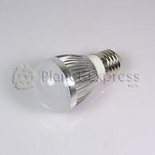 Bombilla 3W LED esferica E27 Blanco Frio 220V 240 lumen Bajo Consumo equiv.25W