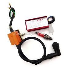 Racing Ignition Coil CDI Spark Plug For 50cc 70cc 90cc 110cc Loncin Taotao ATV