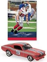 New York Giants Jeremy Shockey Ford Mustang 1:64 Diecast Car & Trading Card