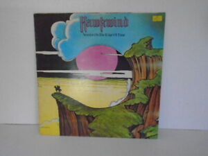 HAWKWIND WARRIOR ON THE EDGE OF TIME 1975 LIBERTY UNITED RECORDS UAG 29766 EX/VG