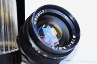RARE BLACK EXPORT MIR-1 GRAND PRIX Brussels 37mm f/2.8 Wide Angle USSR SLR lens