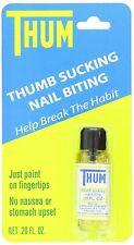 Thum Liquid Stops Thumb Sucking and Nail Biting 0.2 oz #10001 New by Oakhurst