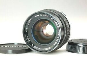 【N MINT Late Model】 Olympus OM Zuiko Auto W 35mm f/2 MF Wide Angle Lens From JPN
