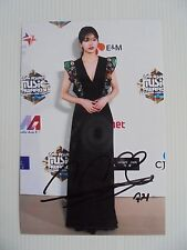 Suzy Bae Miss A 4x6 Photo Korean Actress KPOP autograph hand signed USA Seller T