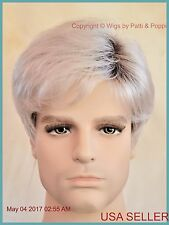 Emerson Men's Wig by Noriko  Color  ILLUMINA R  New Man Wig  Authentic 2003
