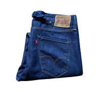 Levis Lot Relaxed Fit Blue Denim Regular Jeans W30 L34 Tag (W34 L32 Measured)