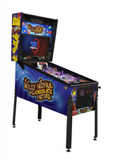 Willy Wonka & The Chocolate Factory Standard Edition Pinball Machine In Stock !