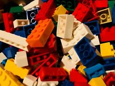 BRAND NEW LEGO 100 ALL BRICKS BLOCKS LOT ONLY Mixed Sizes Basic Building Pieces