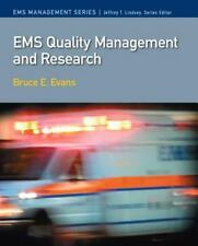 Ems Quality Management and Research by Jeffrey T. Ph.d Lindsey (English) Paperba