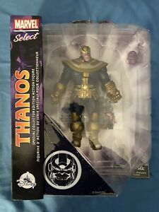 Marvel Select Disney  Exclusive Armored Thanos Infinity War Endgame Figure MCU