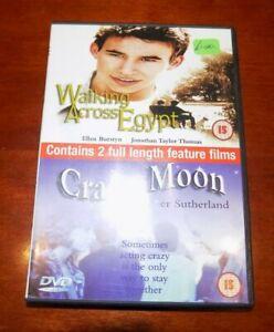 DVD  WALKING ACROSS EGYPT / CRAZY MOON