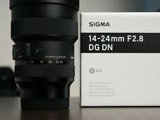 New ListingSigma Art 14-24mm f/2.8 Dg Dn for Leica L-Mount Lens Mint