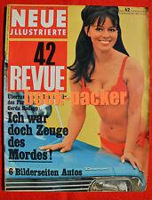 NEUE REVUE 1966 Nr. 42 (16.10.66): Johnny Halliday / Michael Pfleghar