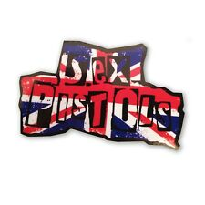 Sex Pistols Union Jack Record Box Sticker Decal  Punk Scooter VT7