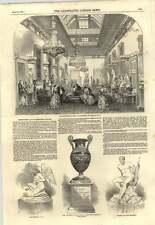 1850 Festivities Sculpture Gallery Holdernesse House Kneeling Cupid