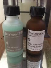 Perricone MD Blue Plasma Daily Peel & High Potency Face Firming Activator  30ml